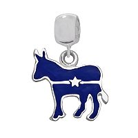 Individuality Beads Sterling Silver Democratic Donkey Bead