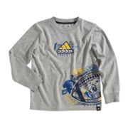 adidas Football Playbook Tee - Boys 4-7x