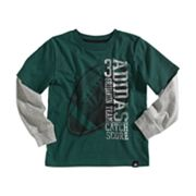 adidas Mock-Layer Football Triple Score Tee - Boys 4-7x
