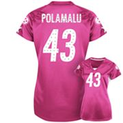 Pittsburgh Steelers Draft Him II Troy Polamalu Shimmer Top