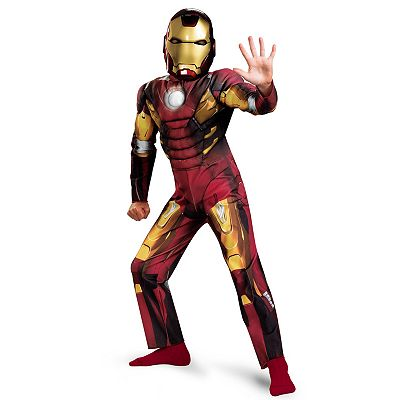 The Avengers Iron Man Mark VII Classic Muscle Chest Costume - Kids