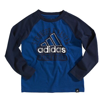 adidas Watch and Learn Tee - Boys 4-7x