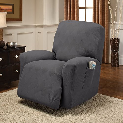 Optics Stretch Recliner Slipcover