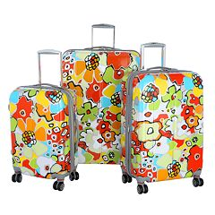 Olympia Blossom 3-Piece Luggage Set