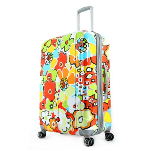Olympia Blossom 29-Inch Spinner Luggage