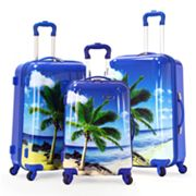 Olympia Palm Beach 3-pc. Luggage Set