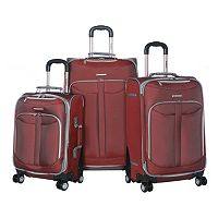 Olympia Tuscany 3 pc Luggage Set