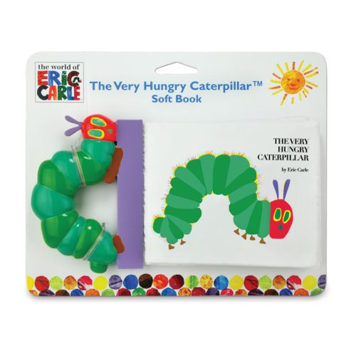 The World of Eric Carle The Very Hungry Caterpillar Soft Book by Kids Preferred