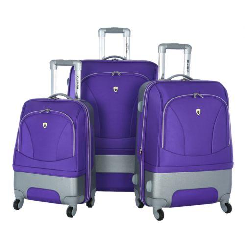 Olympia Luggage, Majestic Expandable 3-pc. Luggage Set