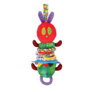 The World of Eric Carle Jiggle Caterpillar Pull Toy by Kids Preferred