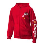 Kansas City Chiefs Fleece Hoodie - Girls 7-16