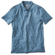 Helix Heather Burnout Polo - Men