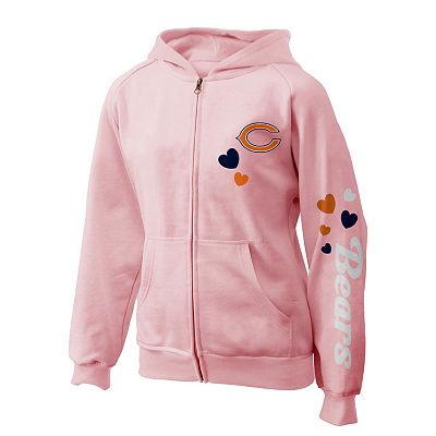 Chicago Bears Fleece Hoodie - Girls - 7-16