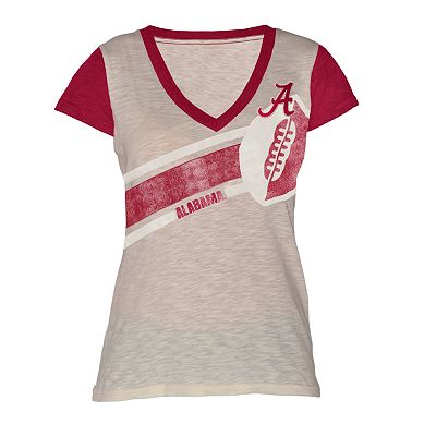 Alabama Crimson Tide Zone Coverage Colorblock Tee