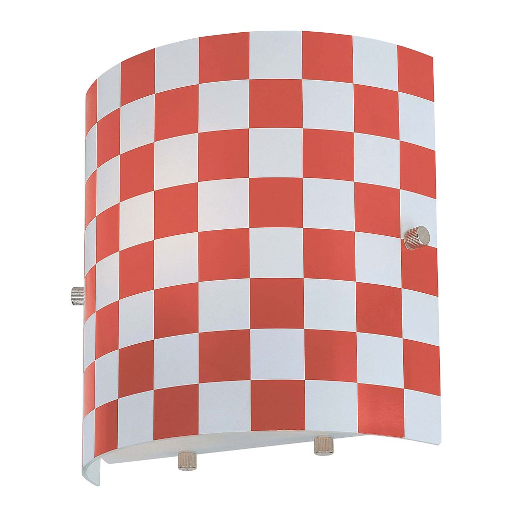 Checker Wall Sconce