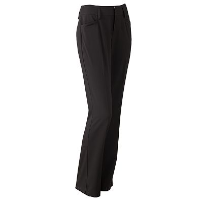 ELLE Straight-Leg Trouser Pants
