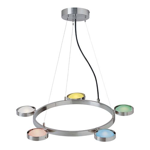 Sherbet 5-Light Ceiling Lamp
