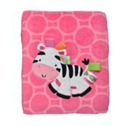 Taggies Zebra Security Blanket