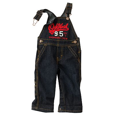 OshKosh B'gosh Engineers Crew Denim Overalls - Baby
