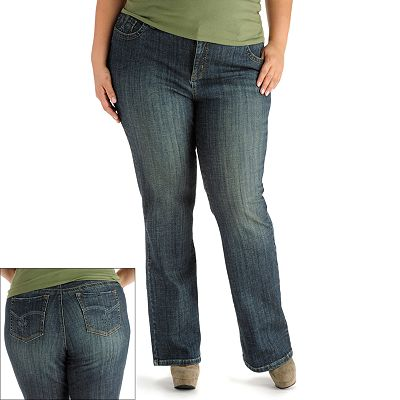 Lee June Slender Secret Barely Bootcut Jeans - Women's Plus