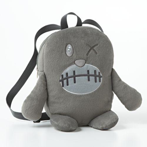 Fuzzy Monster Backpack - Kids