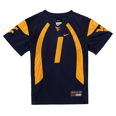 Nike West Virginia Mountaineers Jersey - Boys 4-7