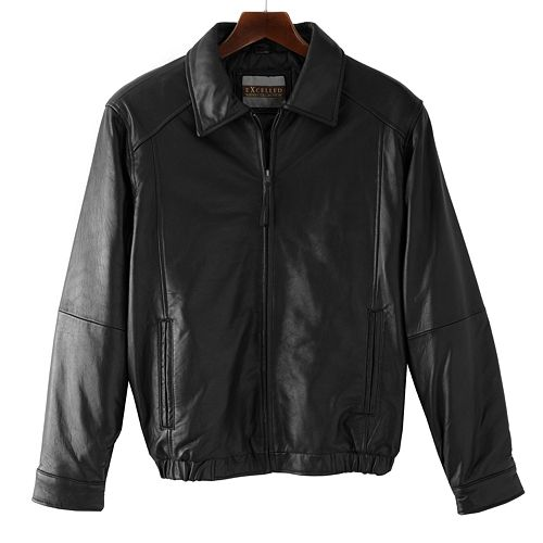 161a375de Big & Tall Excelled Leather Bomber Jacket