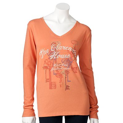 SONOMA life + style The Clarendon House Key Tee