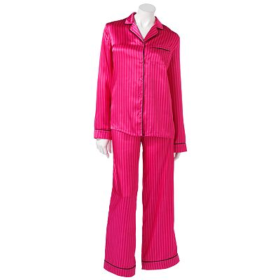 Apt. 9 Satin Notch Collar Pajama Set