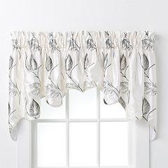 Ellis Curtains Astonish Embroidered Duchess Window Valance - 30'' x 100''