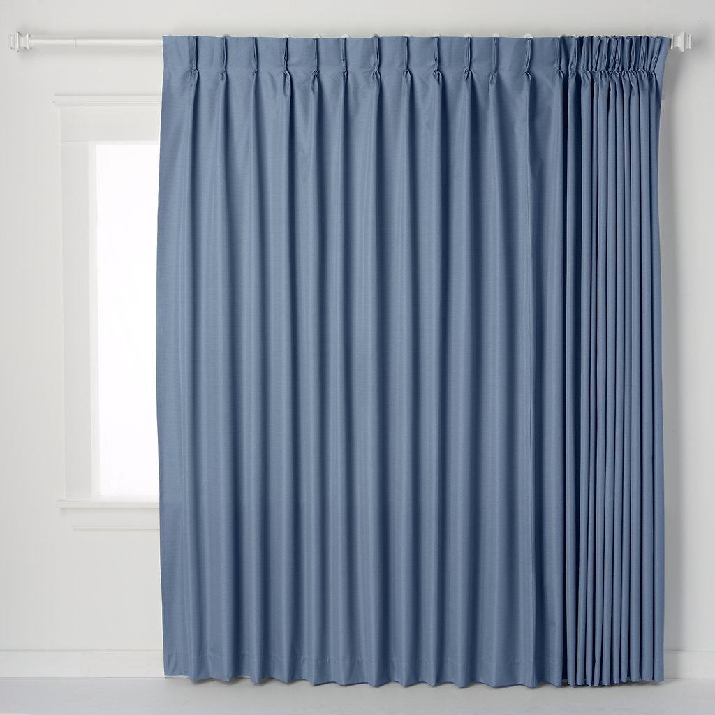 Ellis Curtains Crosby Pinch-Pleat Patio Door Window Panel - 96'' x 84'' - Curtains Crosby Pinch-Pleat Patio Door Window Panel - 96'' X 84''