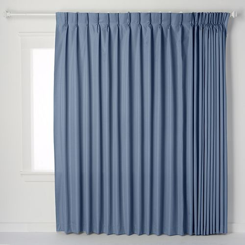 Ellis Curtains Crosby Pinch Pleat Patio Door Window Panel