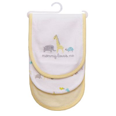 Carter's 3-pk. Mommy Loves Me Burp Cloths
