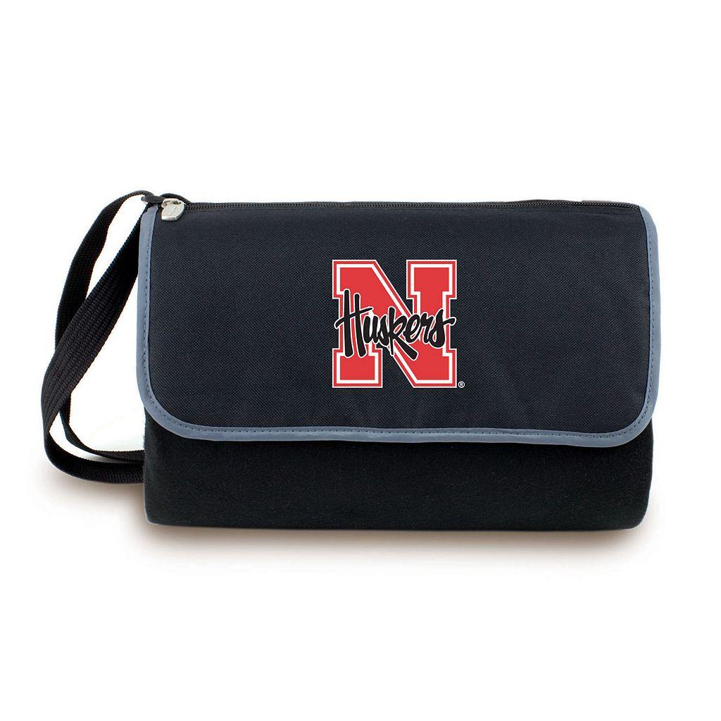 Picnic Time Nebraska Cornhuskers Blanket Tote