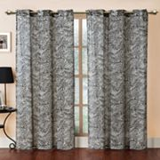 Victoria Classics Zebra-Print Georgette Window Panel - 55'' x 84''