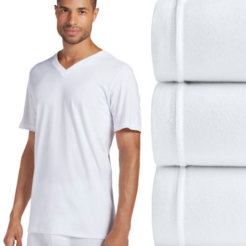Jockey 3-pk. Classic StayDry V-Neck Tees - Men