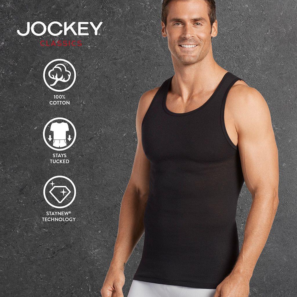 Men's Jockey 3-pk. Classic A-Shirt