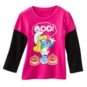 The Smurfs Mock-Layer Halloween Tee - Toddler