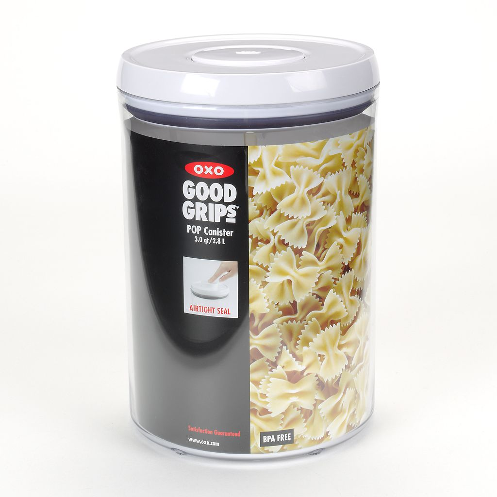 OXO Good Grips POP 3-qt. Round Kitchen Canister