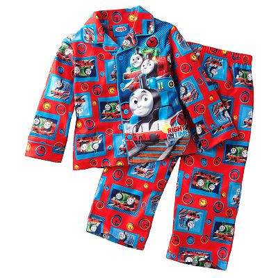 Thomas and Friends Right On Time Pajama Set - Toddler