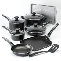 Farberware 12-pc. Nonstick High-Performance Aluminum Cookware Set