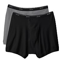 Big & Tall Jockey 2-pk. Classic StayDry Full Rise Boxer Briefs