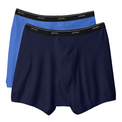Jockey 2-pk. Classic StayDry Full Rise Boxer Briefs - Big and Tall