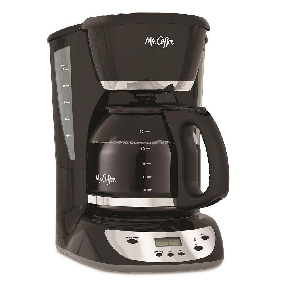 mr coffee black 12 cup programmable coffee maker