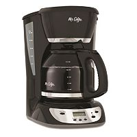 Mr. Coffee Black 12 cupProgrammable Coffee Maker