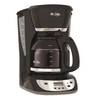 Mr. Coffee Black 12-Cup Programmable Coffee Maker