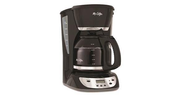 Kohl S Coffee Maker Black Friday : Mr. Coffee Black 12-Cup Programmable Coffee Maker