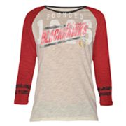 Chicago Blackhawks Onside Kick Slubbed Tee