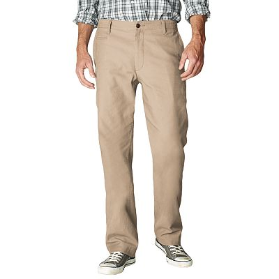 Dockers Off the Clock Straight-Fit Flat-Front Pants