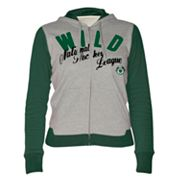 Minnesota Wild Nickel Coverage Colorblock Hoodie